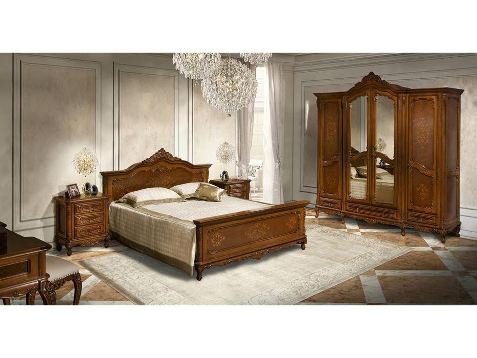Simex спальня классика  (орех) Клеопатра