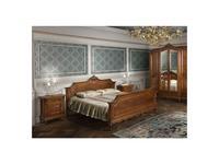 Simex кровать двуспальная 180х200 (орех) Роял