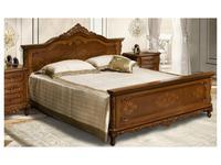 Simex кровать двуспальная 160х200 (орех) Клеопатра
