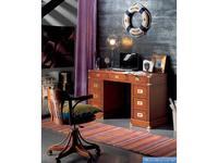 Artemader стол письменный 2-х тумбовый (орех) Camarote