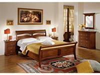 Cavio кровать двуспальная 180х200 Фиесоле (орех фиорентино) Fiesole
