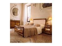 5103971 кровать двуспальная Cavio: Madeira Intarsio