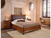 5103981 кровать двуспальная Cavio: Madeira Intarsio