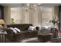 Essepi диван 3 местный раскладной ткань кат. L (коричневый) Ariel