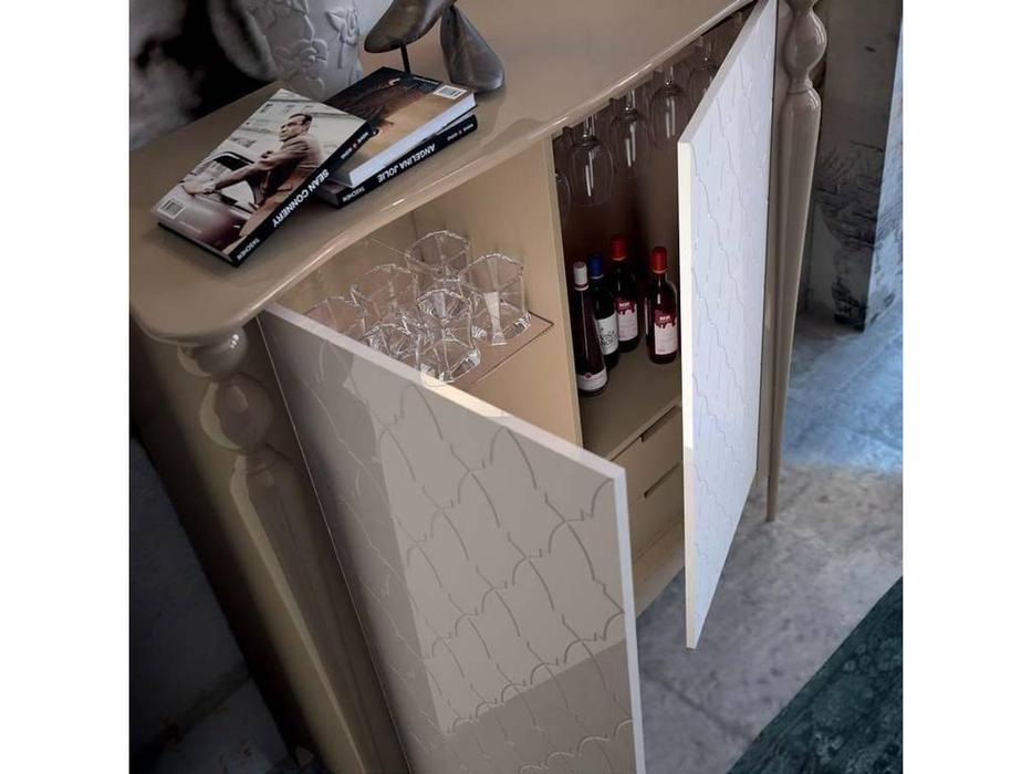 Mugali витрина низкая  (серый) Galiano Pasion