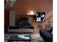 Mugali стенка в гостиную  (серый) Galiano Pasion