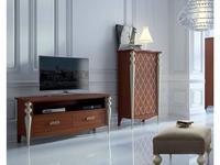 Mugali тумба под телевизор  (коричневый) Galiano Pasion