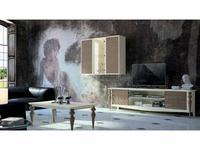Mugali тумба под телевизор  (серый) Galiano Pasion