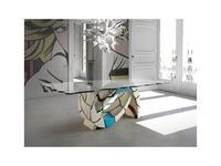Lola Glamour стол обеденный  (разноцветный) Gaudi
