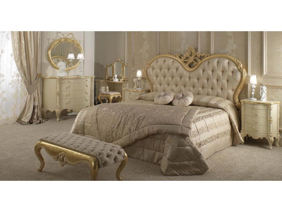 Stile Legno кровать двуспальная 180х200 (золото)