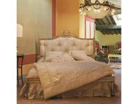 Stile Legno кровать двуспальная  (золото состаренное) Maria Luisa
