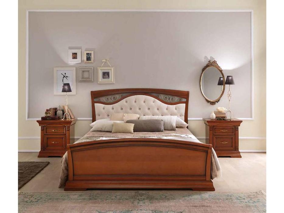 Bakokko кровать двуспальная 160х200 (вишня) Palazzo Ducale