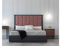 Mugali кровать двуспальная 180х190 (темно серый) Maria