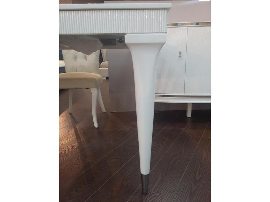 Fratelli Barri стол обеденный раскладной (белый глянцевый лак) Rimini