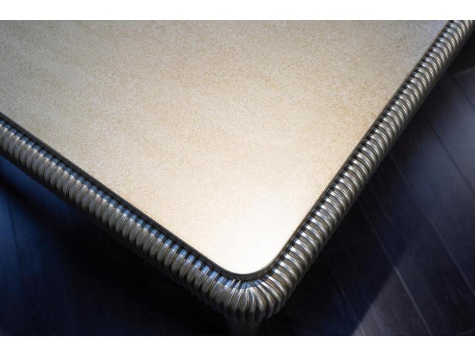Fratelli Barri стол обеденный раскладной (серебро) Rimini