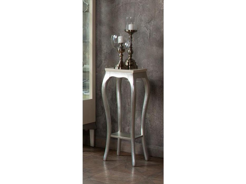 Fratelli Barri подставка для цветов (перламутровый кремовый лак, серебро) Venezia