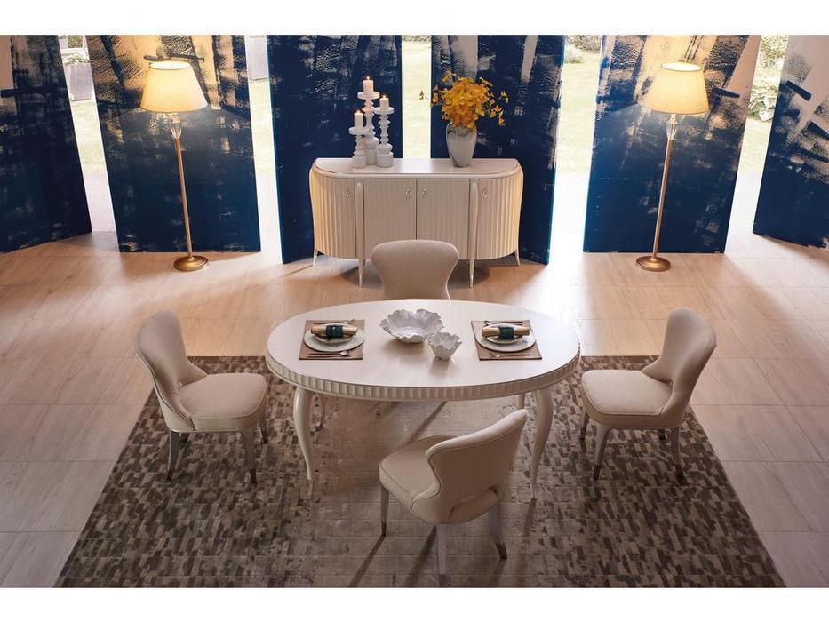 Fratelli Barri стул  (серебро, белый) Rimini