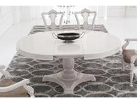 Fratelli Barri стол обеденный на 10 человек раскладной (белый лак) Rimini