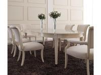 Fratelli Barri стол обеденный раскладной (бежевый лак) Modena