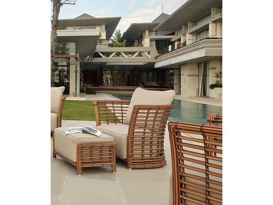 Skylinedesign кресло садовое с подушками (NATURAL MUSHROOM) Villa