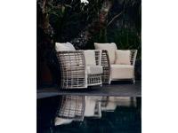 Skylinedesign садовое кресло с подушками (WHITE MUSHROOM) Villa