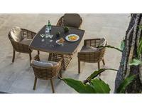 Skylinedesign садовое кресло обеденное (NATURAL MUSHROOM) Villa