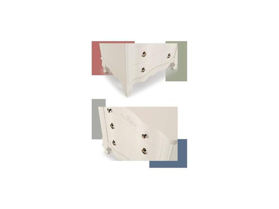 Panamar тумба прикроватная  (белый) Classic