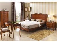 Panamar кровать двуспальная 180х200 (орех) Classic