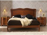 Panamar кровать двуспальная 160х200 (орех) Classic