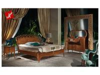 5216230 кровать двуспальная Carpanelli: Glam