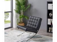 ESF кресло  (черный, хром) Modern