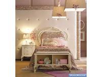 GiorgioCasa кровать детская  (слоновая кость, серо розовый) Bimbi