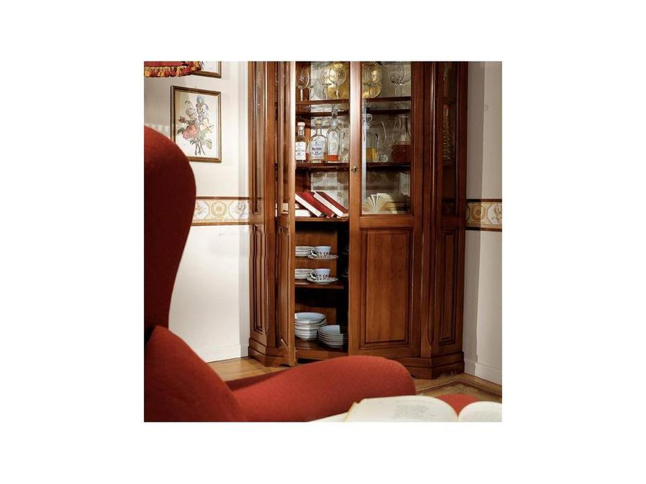 Витрина угловая для домашней библиотеки. фото крупно и цены..