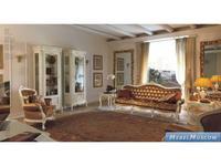 Cavio витрина 1 дверная левая (слоновая кость, золото) Benedetta