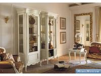 Cavio витрина 1 дверная   правая (слоновая кость, золото) Benedetta