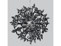Lightstar люстра подвесная 18x40W (серый) Medusa