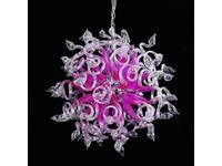 Lightstar люстра подвесная 18x40W (розовый) Medusa