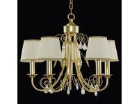Lightstar люстра подвесная 5х40W E14 (золото) Modesto