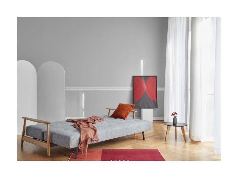 Innovation диван раскладной тк. 565 (серый) Eluma