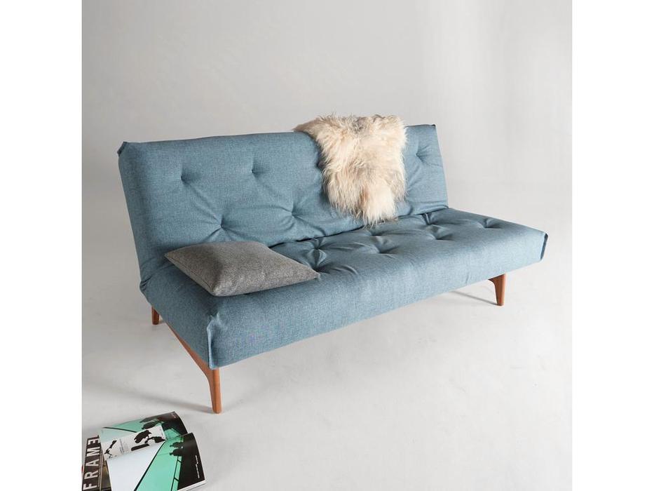Innovation диван раскладной 140 (голубой) Aslak