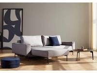 Innovation диван угловой с подлокотниками тк.217 (серый) Bragi