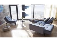 Innovation комплект мягкой мебели с деревянными ножками styletto (синий) Dublexo