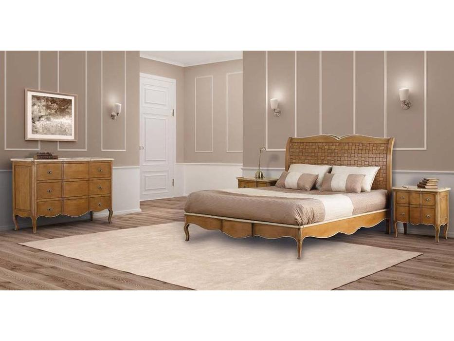 AM Classic спальня классика  (amber groseado, white patine) Dalila