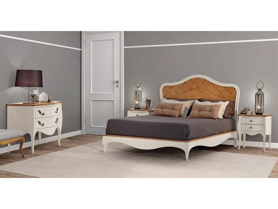 AM Classic кровать двуспальная 180х200 (крем) Matisse