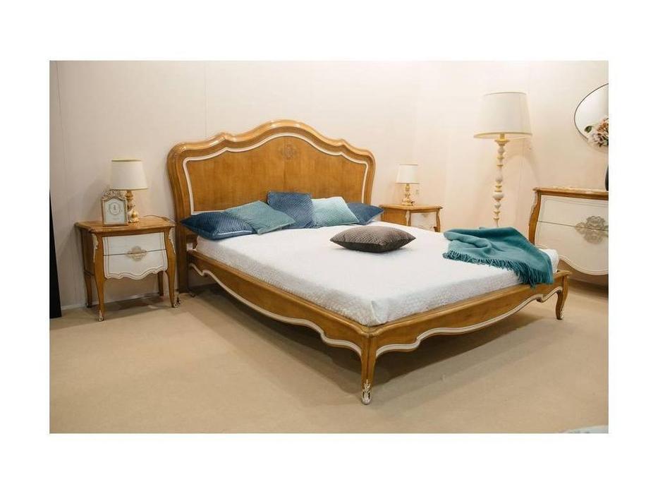 AM Classic кровать двуспальная  (беж) Majestic Gold