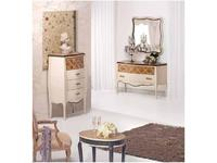 AM Classic зеркало настенное комоду (крем) Juliette