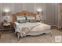 AM Classic кровать двуспальная 180х200 (беж) Majestic Gold