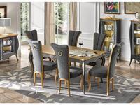 Tosato стол обеденный раскладной (grigio frassino) Dolce Vita