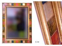 5204693 зеркало Artesania Aro: Golden