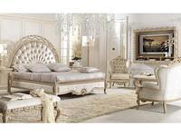 Antonelli Moravio кровать двуспальная Charme 170х200 (натуральный светлый) Belveder